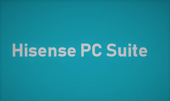 Hisense PC Suite