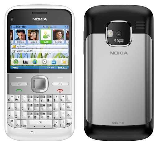 Nokia E5 Flash File
