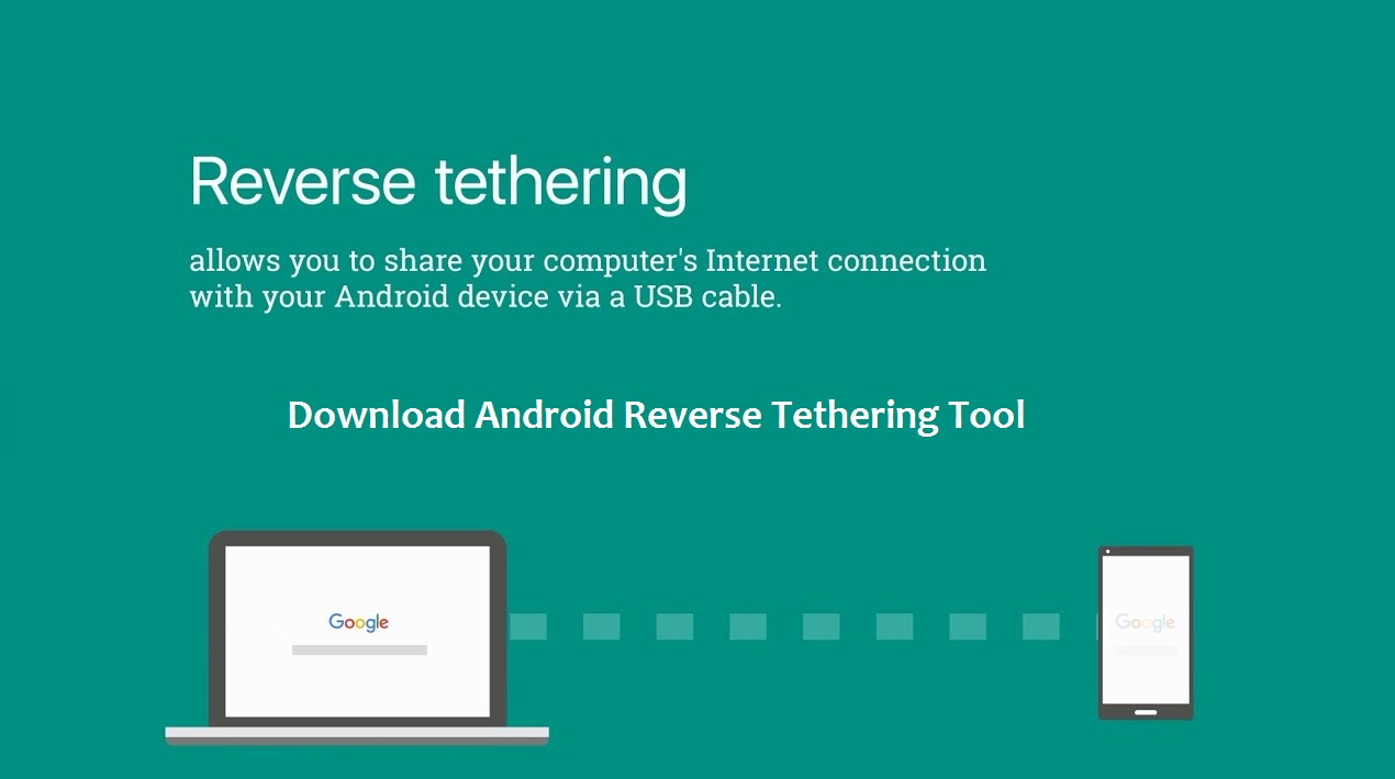 Android Reverse Tethering Tool