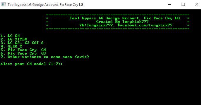 LG Google Account Bypass Tool