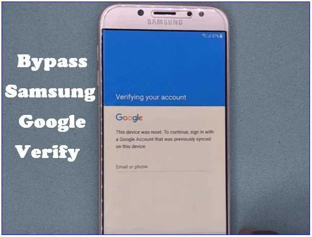 Samsung Bypass Google Verify APK