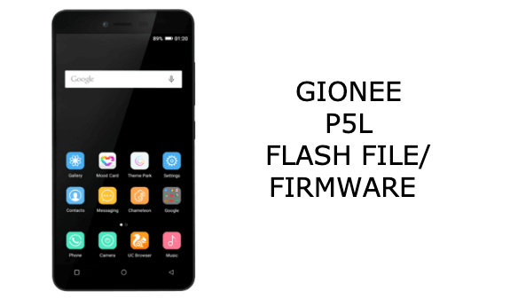 Gionee P5L Flash File