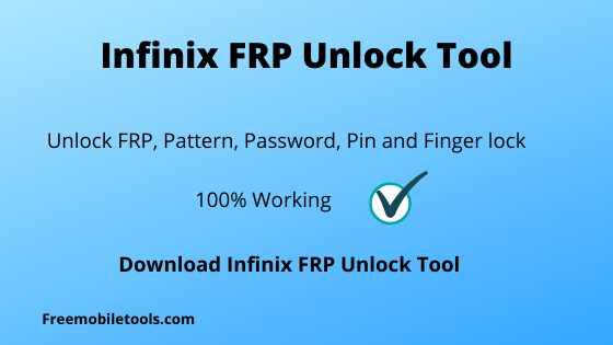 Infinix FRP Unlock Tool